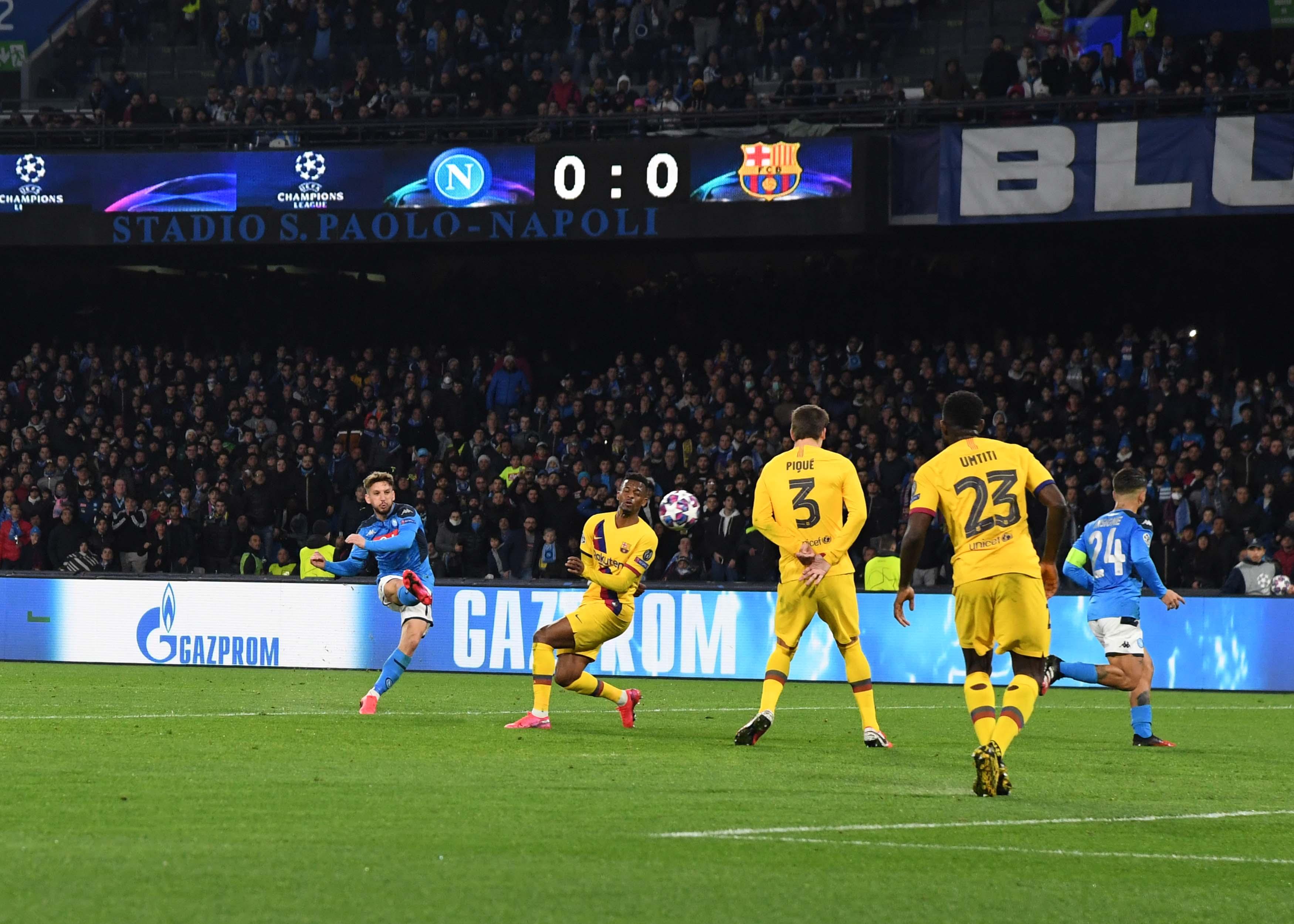 Napoli 1 – 1 Barcelona: El Camp Nou dictará sentencia